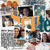 Digital Scrapbook page by Courtney
