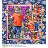DIGITAL SCRAPBOOKING | FOREVERJOY DESIGNS | ORANGE YOU GLAD