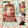 Digital Scrapbook Page by Mrs Peel