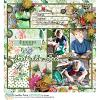DIGITAL SCRAPBOOKING | FOREVERJOY DESIGNS | HELLO BEAUTIFUL