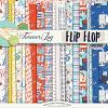 DIGITAL SCRAPBOOKING | FOREVERJOY DESIGNS | FLIP FLOP