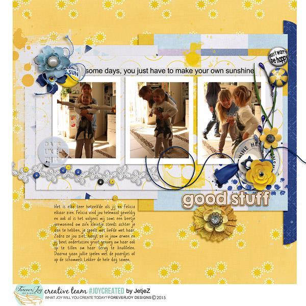 CHIN UP | Digital Scrapbooking Kit | ForeverJoy Designs
