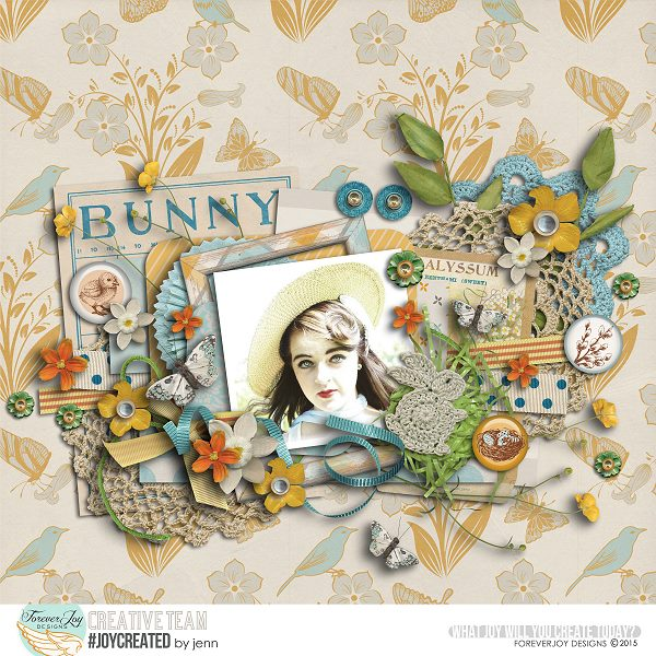 BUNNY TRAIL | Digital Scrapbooking | by ForeverJoy Designs