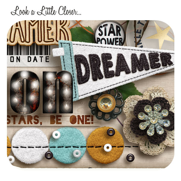 DIGITAL SCRAPBOOKING | FOREVERJOY DESIGNS | BEAUTIFUL DREAMER