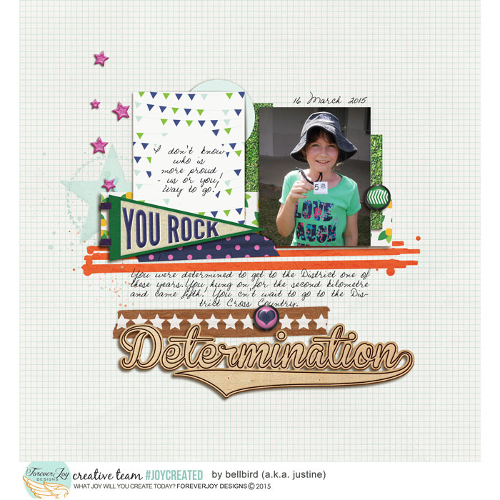 YOUR BIGGEST FAN | Digital Scrapbooking Kit | ForeverJoy Designs