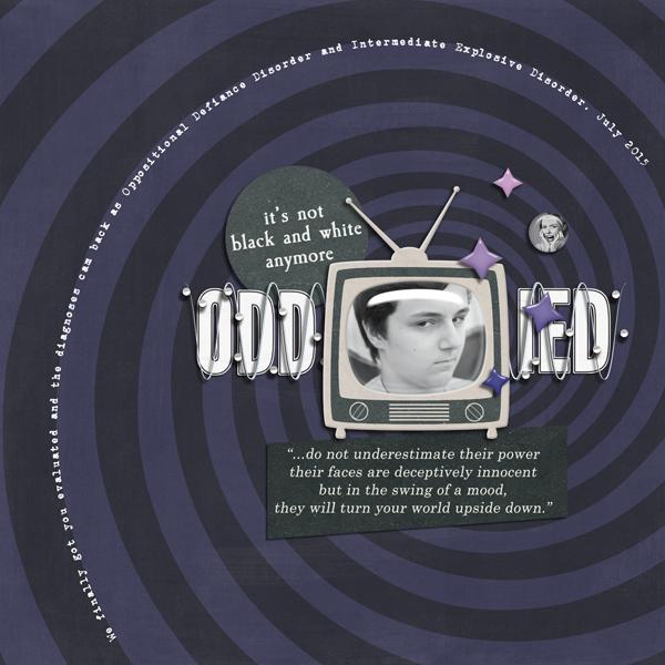 THE TEEN PARENT ZONE | DIGITAL SCRAPBOOKING | BY FOREVERJOY DESIGNS