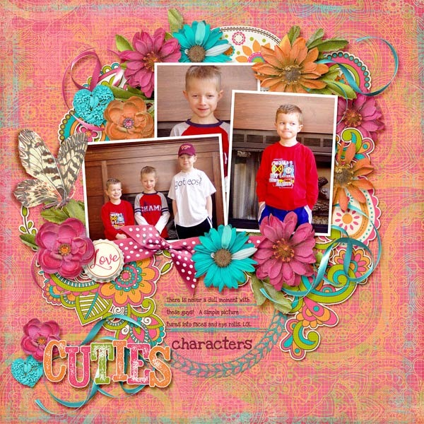 Digital scrapbook template farewell to summer dressed up description pronofoot35fo Image collections