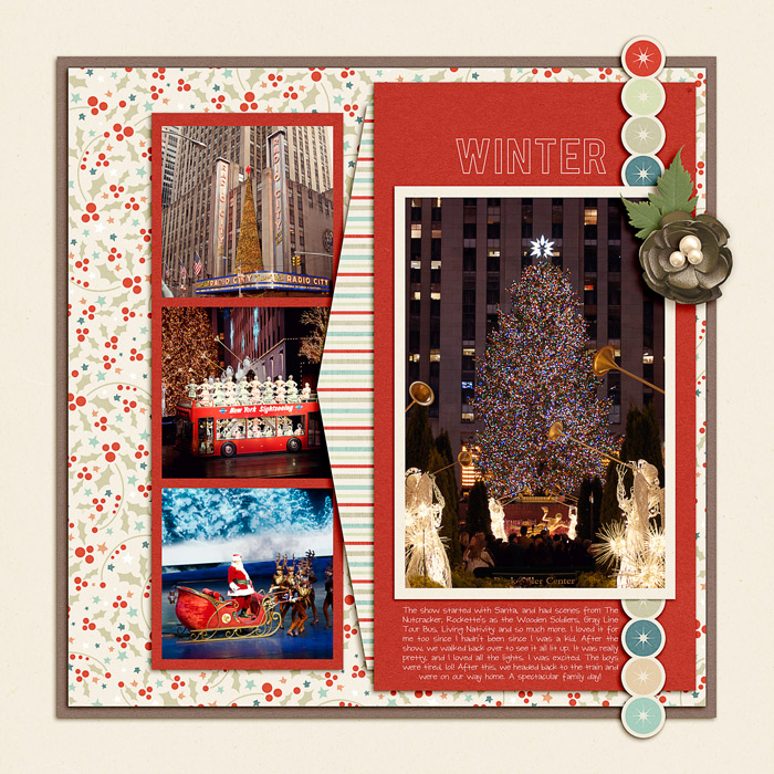 Digital Scrapbook Page by Jenn