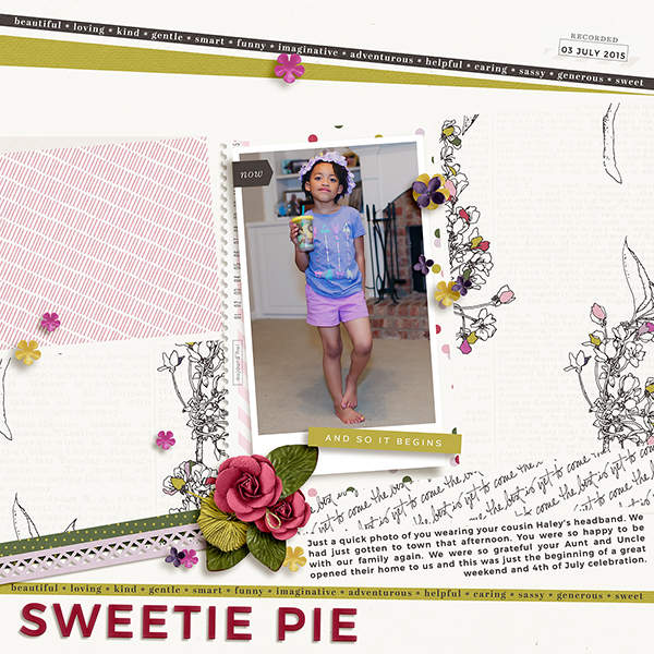 Digital Scrapbook Page by Tronesia