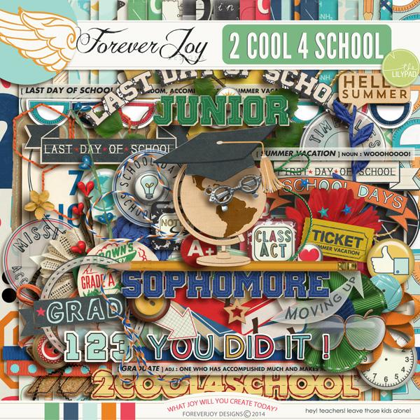 2 COOL 4 SCHOOL | by ForeverJoy Designs