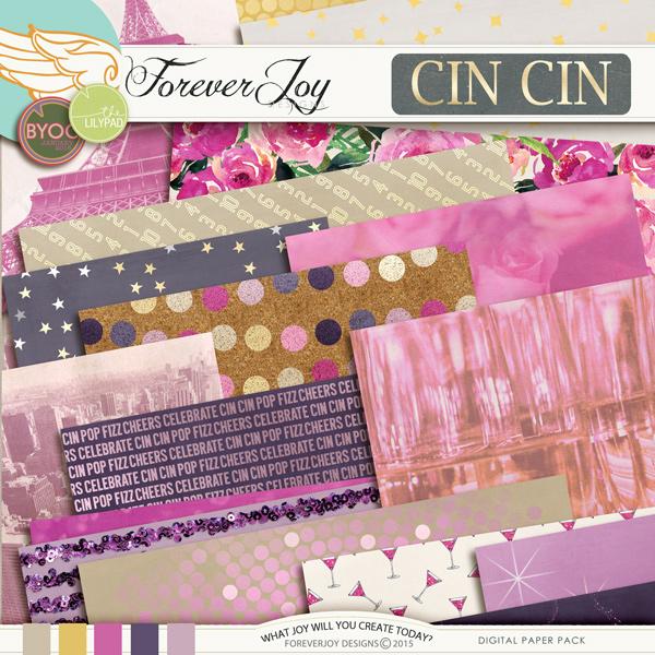 Digital Scrapbooking | CIN CIN by ForeverJoy Designs