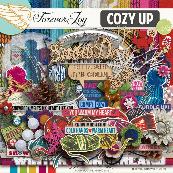 COZY UP | DIGITAL SCRAPBOOKING | BY FOREVERJOY DESIGNS