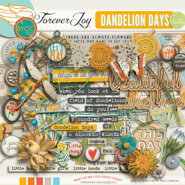 DANDELION DAYS  | by ForeverJoy Designs
