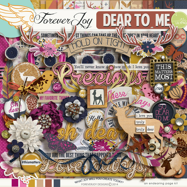 DEAR TO ME | by ForeverJoy Designs