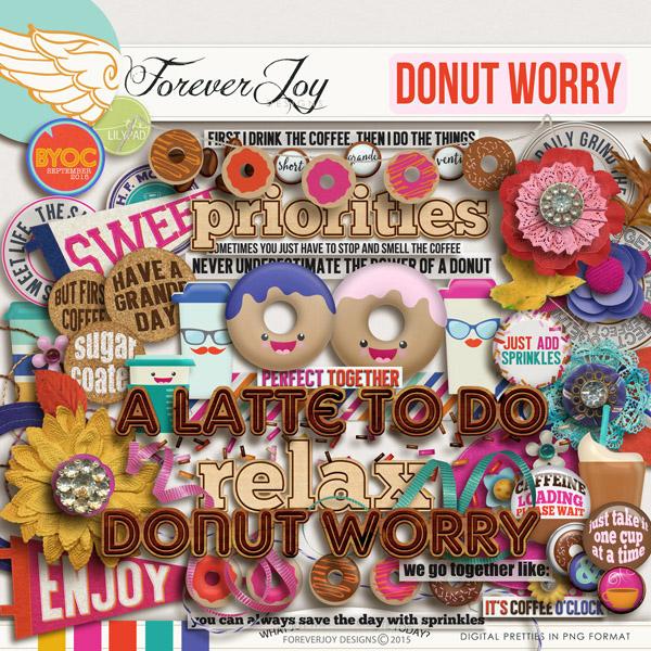 DONUT WORRY | Digital Scrapbooking | by ForeverJoy Designs