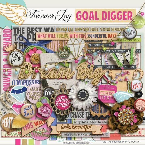 GOAL DIGGER | by ForeverJoy Designs