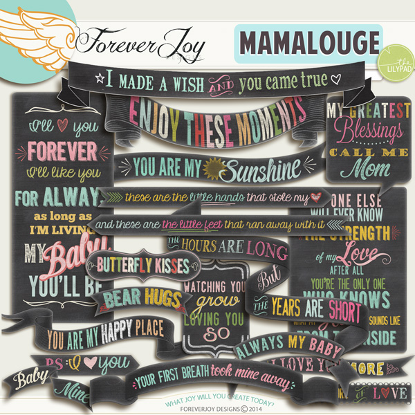 MAMALOUGE | by ForeverJoy Designs