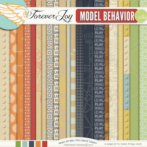 MODEL BEHAVIOR | by ForeverJoy Designs