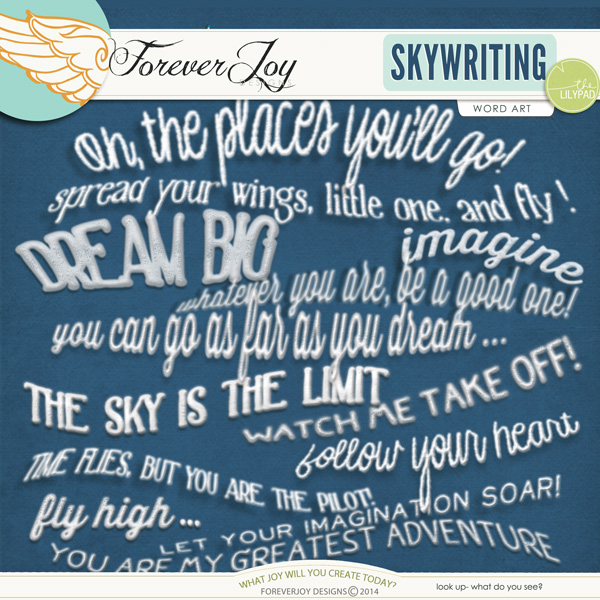 SKYWRITING | by ForeverJoy Designs