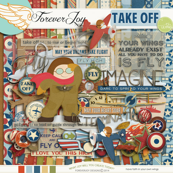 TAKE OFF   by ForeverJoy Designs