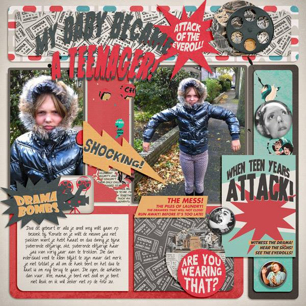 THIS IS SCARY | Digital Scrapbooking | by ForeverJoy Designs