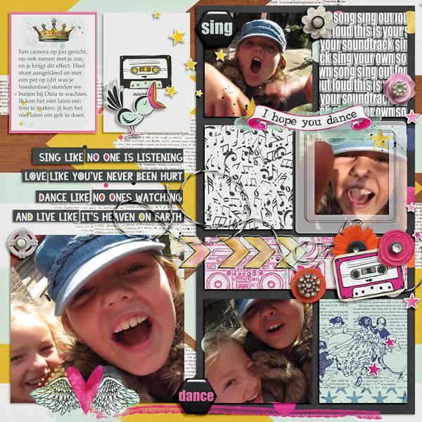 MIX TAPE| Digital Scrapbooking | by ForeverJoy Designs