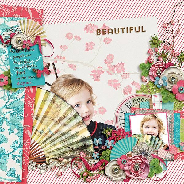 SAKURA | by ForeverJoy Designs | Digital Scrapbooking