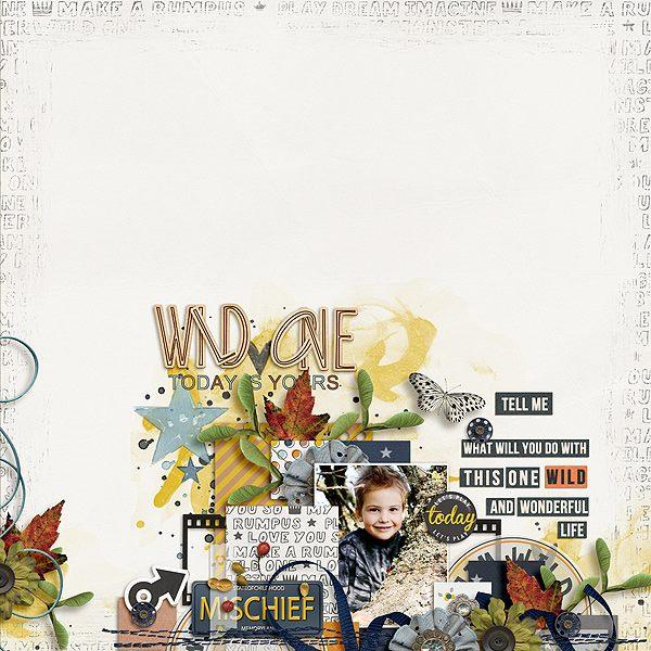 WILD ONE | by ForeverJoy Designs