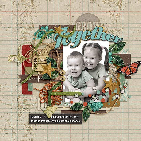 GREETINGS FROM | Digital Scrapbooking | ForeverJoy Designs