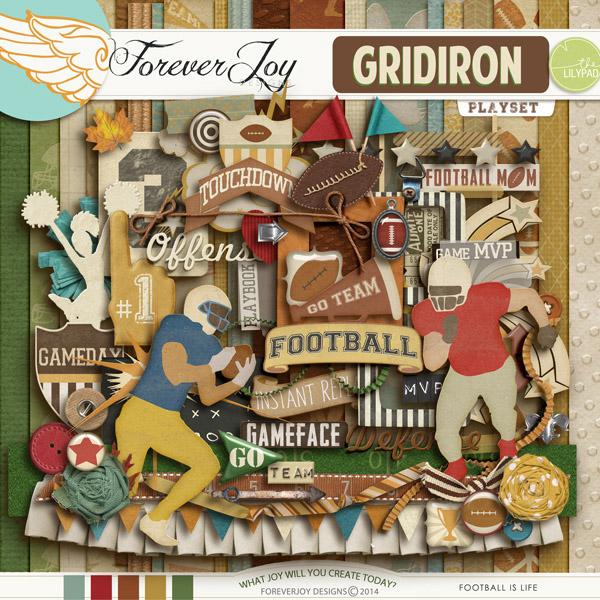GRIDIRON | by ForeverJoy Designs