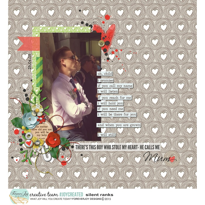 LOVE YOU MORE | DIGITAL SCRAPBOOKING | by FOREVERJOY DESIGNS