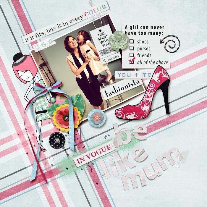 Layout by Li Li (misslovescraps)