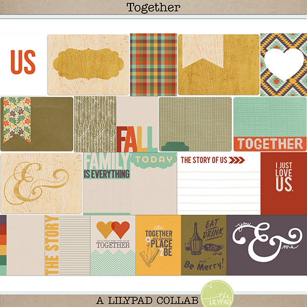 Together - journal cards