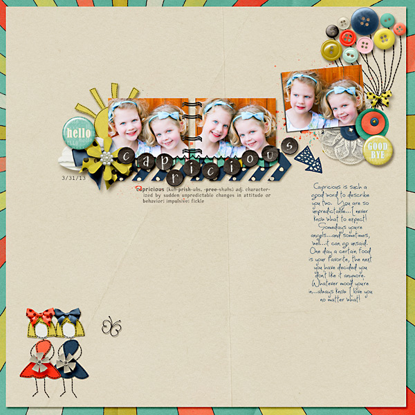 Layout by Wendy