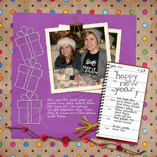 Layout by Cathy