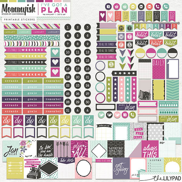 january 2016 planner printables by mommyish