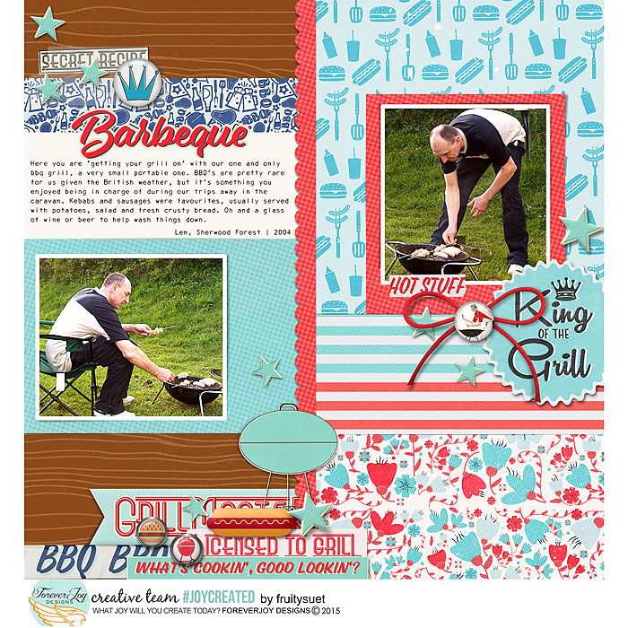 DIGITAL SCRAPBOOKING | FOREVERJOY DESIGNS | PATIO DADDY O
