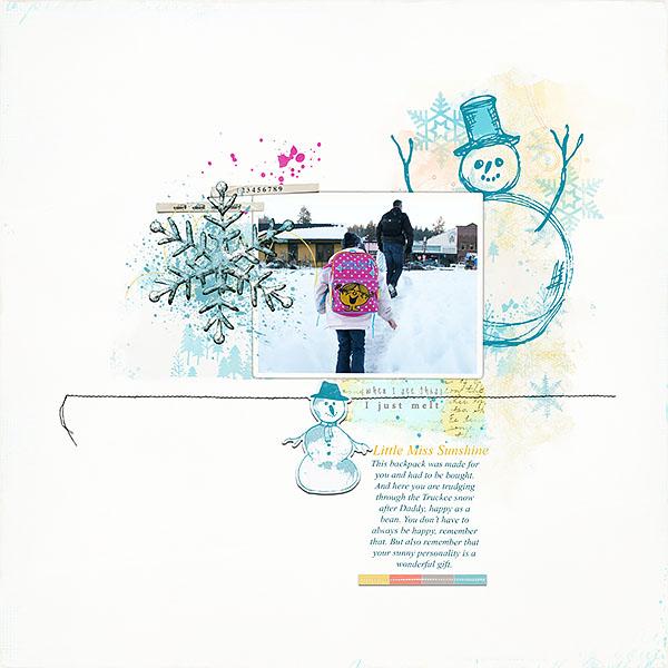 Little Miss Sunshine by Lynn Grieveson
