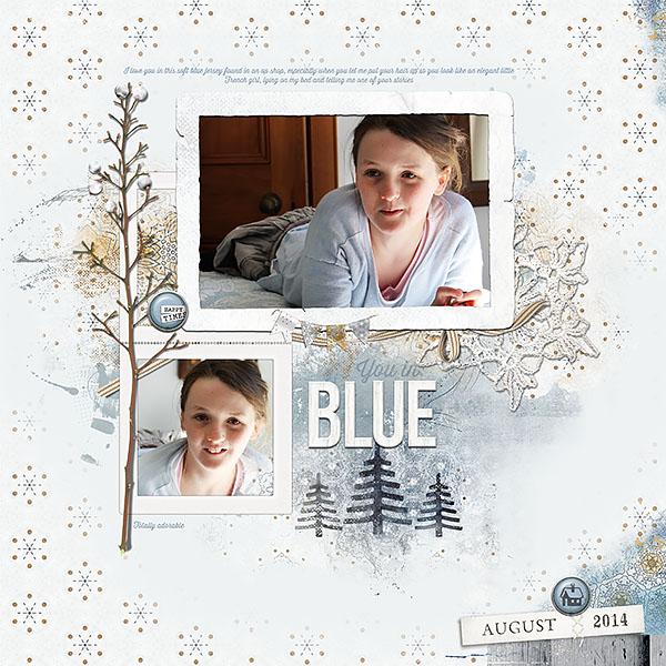you in Blue by Lynn Grieveson