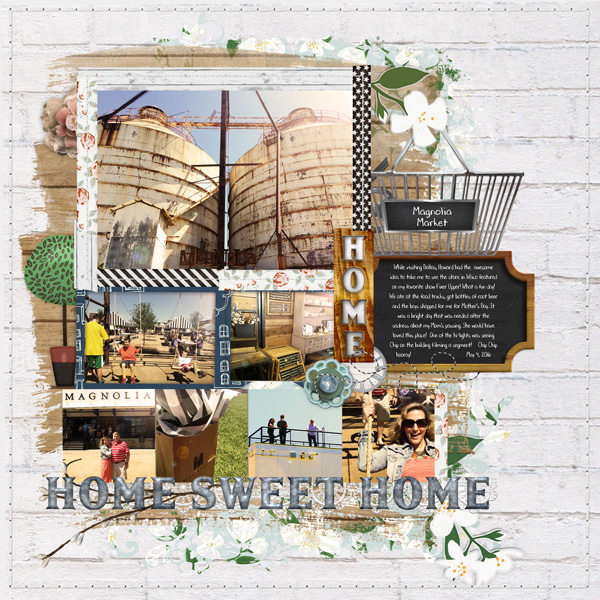 DIGITAL SCRAPBOOKING | FOREVERJOY DESIGNS | SHIPLAP STYLE