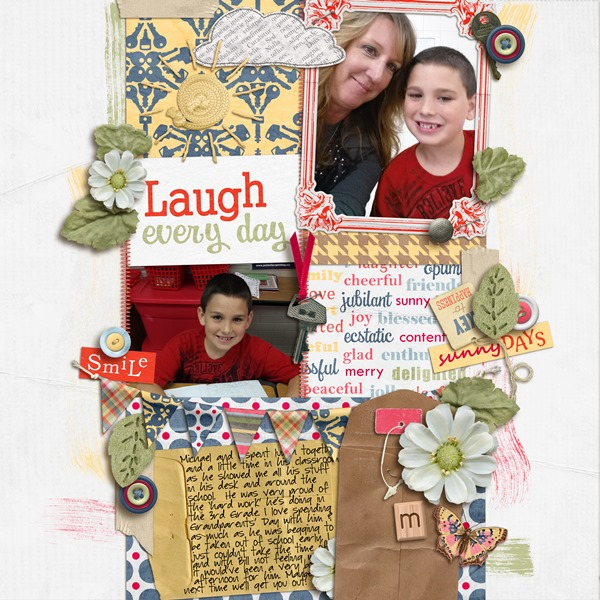 Layout by Melanie