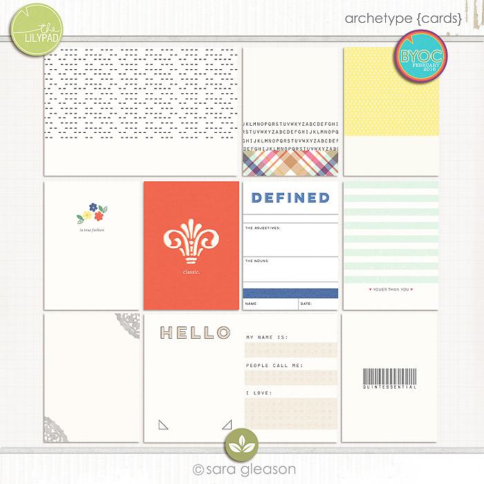 Archetype {cards}