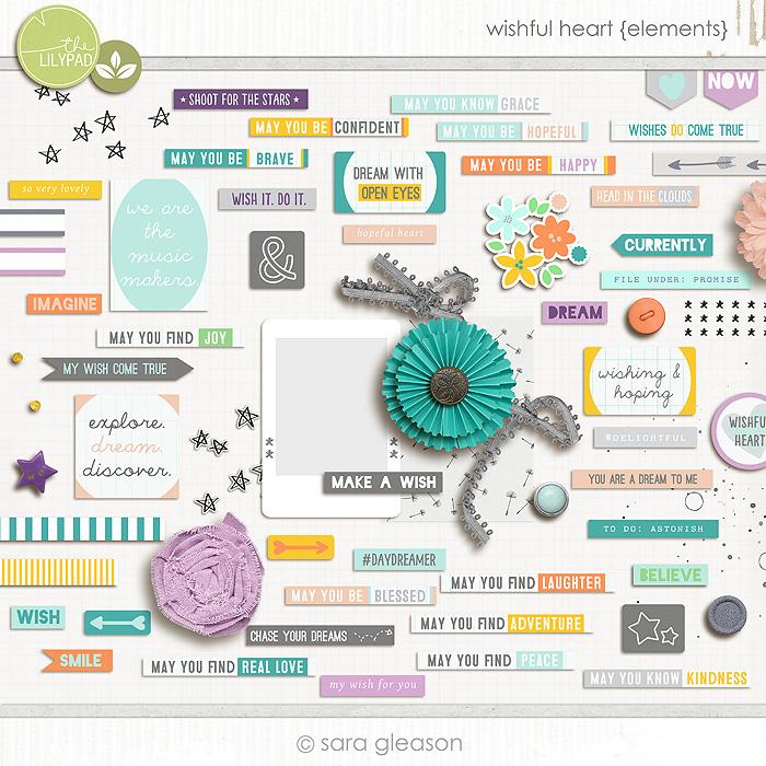 Wishful Heart {elements}