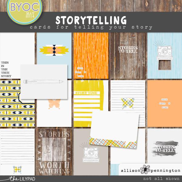 Storytelling: Journal Cards