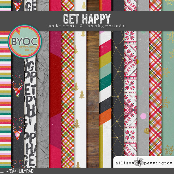 Get Happy: Patterns & Backgrounds