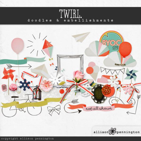 Twirl: Doodles & Embellishments