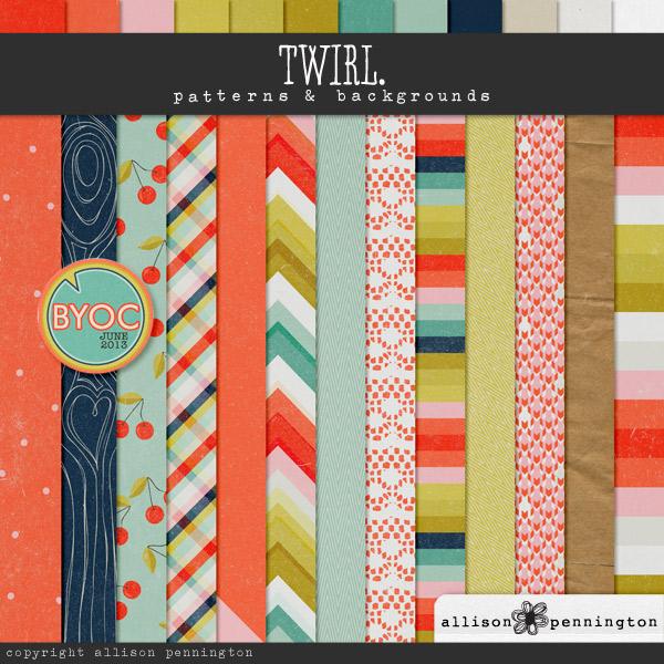 Twirl: Patterns & Backgrounds
