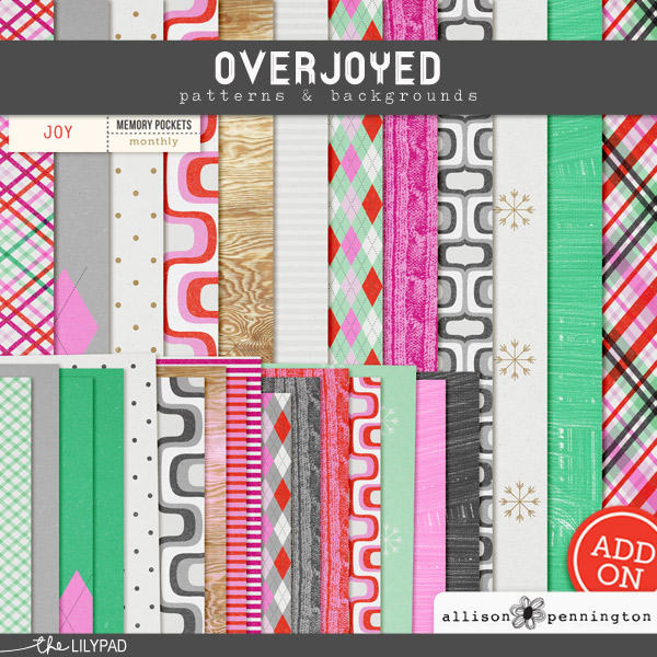 Overjoyed: Patterns & Backgrounds