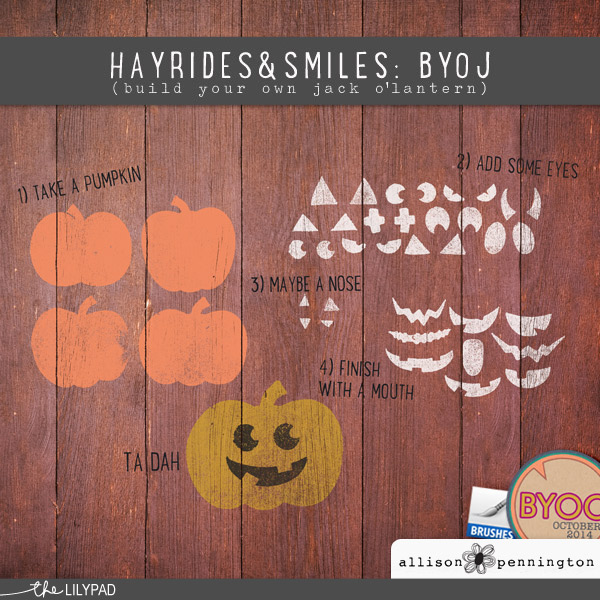 Hayrides & Smiles: Build Your Own Jack o'Lantern