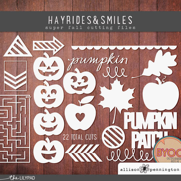 Hayrides & Smiles: Cutting Files
